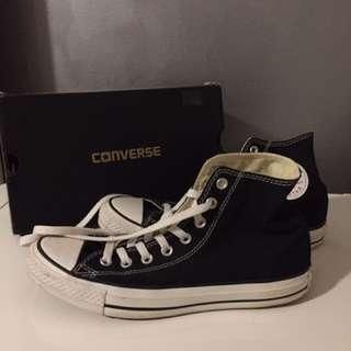 Converse Black And White High-top