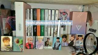 Seventeen Albums and Merch