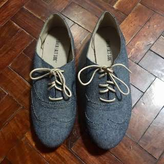 Payless Oxford Style Shoes (Denim)