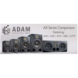 [ASK FOR BLACK FRIDAY PROMO TILL 25TH NOV] Adam Audio AX Series Nearfield Studio Monitor Speakers