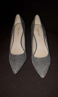 Ninewest Silver Shoes size9 Brandnew Wedding Shoes