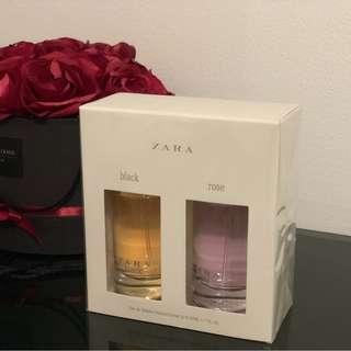 ZARA edt black and rose