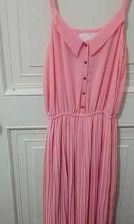 🚚 百折長洋裝