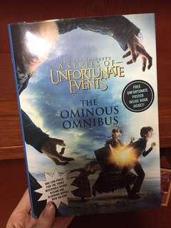 A series of unfortunate events books
