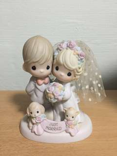Precious Moments Figurine (Till The End Of Time)