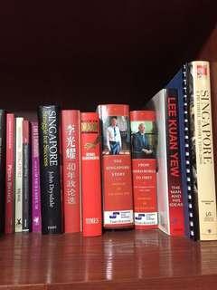 lee kuan yew singapore books history