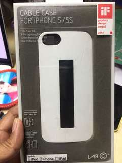 Iphone 5 or 5s Case with Lighting Cable