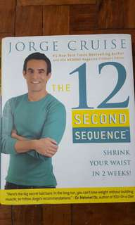 Fitness Exercise Book 12 Second Sequence Jorge Cruise Burn Fat