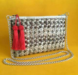 Native bag with tassel