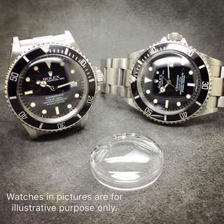 High Dome Crystal for Rolex Submariner 16800, 16610