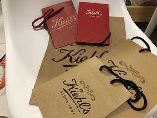 Kiehl's Paper Bag