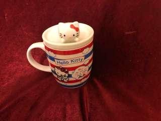 花茶杯名牌Hello Kitty