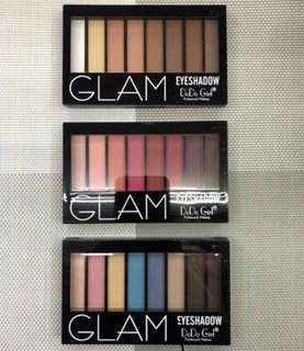 Glam Eyeshadow palettes pocket