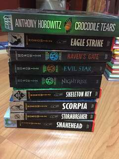 alex rider series anthony horowitz