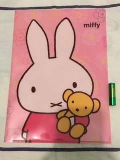 Miffy A4 size file (有2層)