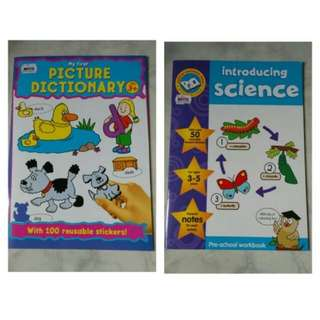 BBW JKT 2018 Bundling activity books Science - Picture Dictionary