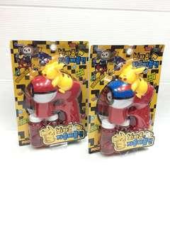 🚚 「韓國帶回」 正版授權 皮卡丘 電動泡泡槍 有音樂 LED 燈光 寶可夢 神奇寶貝