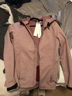 ONEILL heat fleece... raincoat