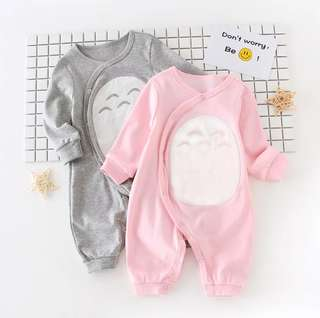 Baby Long Sleeve Long Pant Totoro Design Romper
