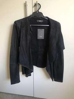 Faux leather/hide jacket s