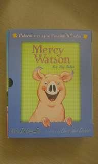 正版Mercy Watson (ㄧ套6本,原價3百幾,購自外國)