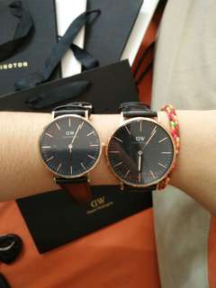DW Couple Watch *price for any two of watch