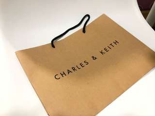 Charles & Keith Paperbag