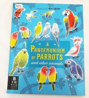 Buku BBW JKT 2018 A Pandemonium of Parrots look find books