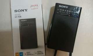 DSE radio Sony 收音機