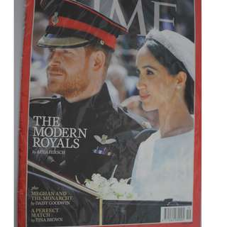 Time magazine Royal Wedding Prince Harry & Meghan Markle  2018