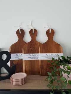 Wooden Serving Boards (New Stock!)