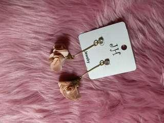 Rose Tassel Drop Earrings