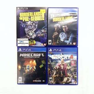 PS4 PS3 Playstation Games