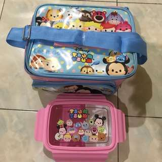 lunch box bag tsum tsum