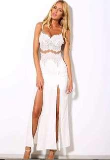 Hello Molly Lace Maxi Dress Size 8