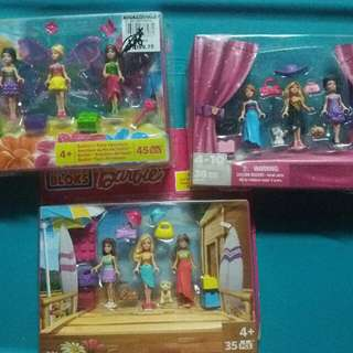Barbie Mega Bloks Take All