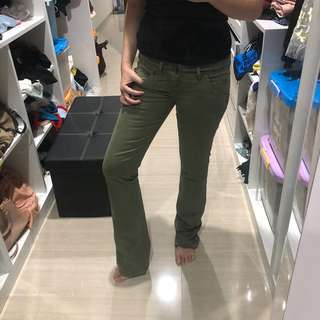 Guess jeans army green