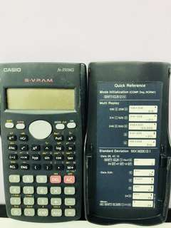 🚚 卡西歐Casio國家考試專業工程計算機(二手)