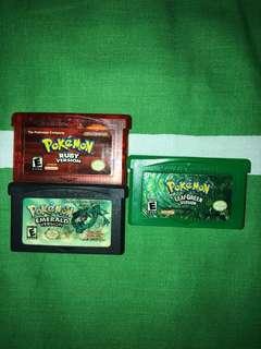 Pokémon Cartridge (Firered, Leafgreen & Emerald)