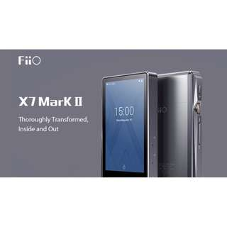 FiiO X7 Mark II DSD Portable Music Player (Andriod / Touch Screen / Bluetooth / WiFi)