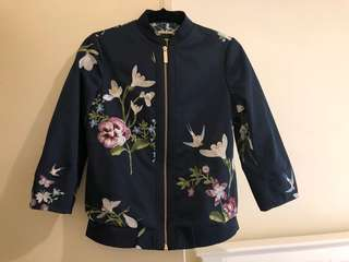 Ted Baker bomber, sz 1 uk, bought 400aud, new 99%.