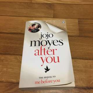 Jojo moyes's after you