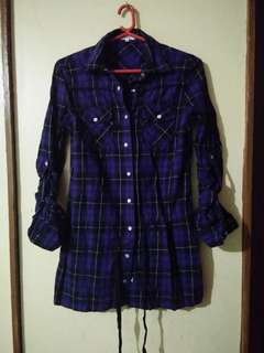 Bossini checkered size.XS