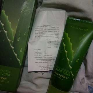 NATURE REPUBLIC ALOE VERA SLEEPING PACK