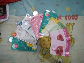 Bundle sheetmask rorec 11 pcs