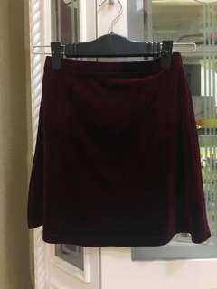 Rossie Velvet Skirt