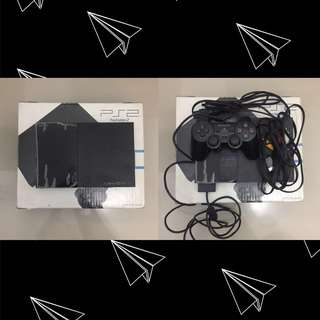 PlayStation 2 Slim Charcoal Black
