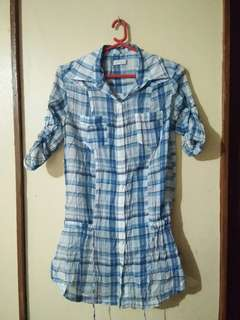 Made in morocco checkered size M on tag