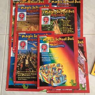 Magic school bus magazine