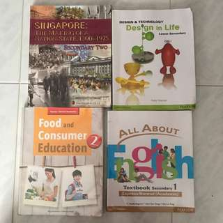 Sec 2 books for sale